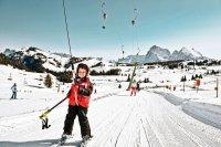 urlop na nartach z dzieckiem